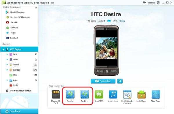 Wondershare entra con fuerza al mercado móvil lanzando MobileGo para Android