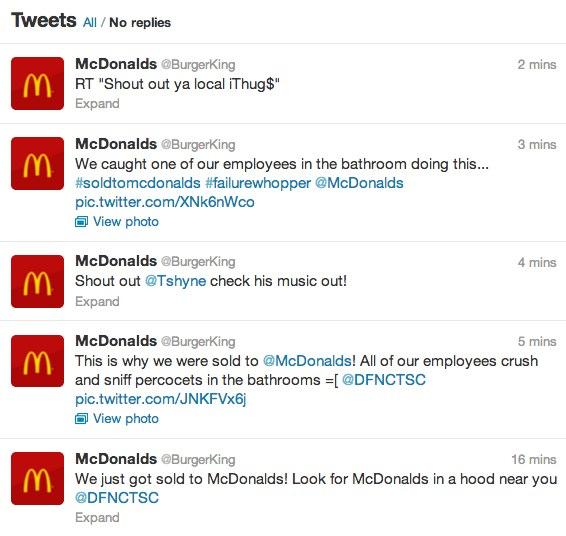 Hackean la cuenta de Burger King en Twitter