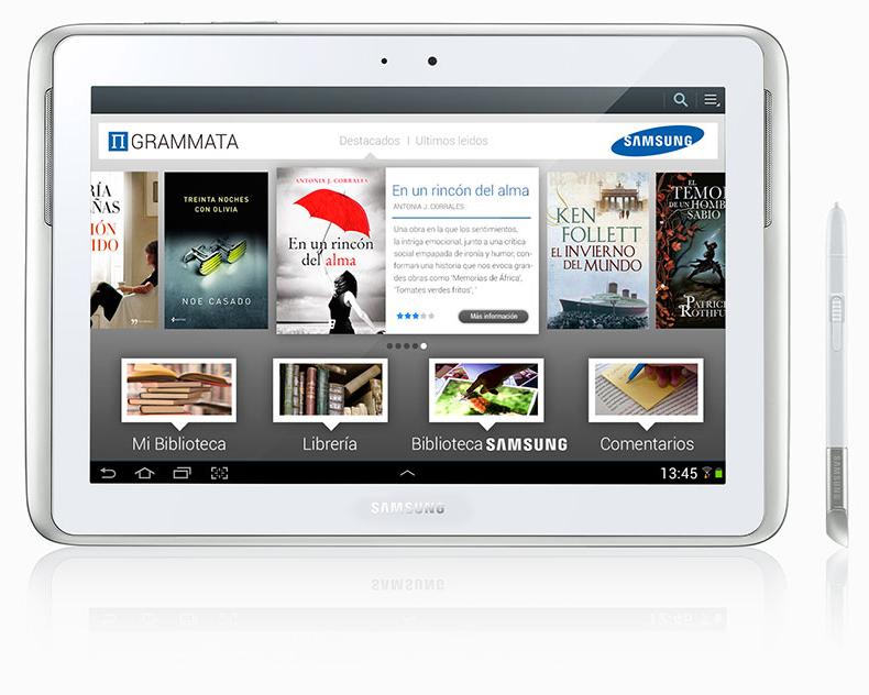Samsung ofrece a sus usuarios acceso al mayor ecosistema literario en español