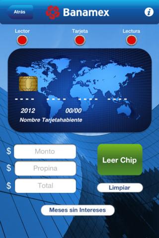 iAcepta el primer lector de tarjetas bancarias para iOS de Banamex