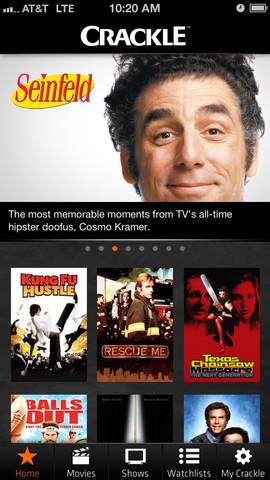 Crackle: ve películas y series de TV de forma gratuita desde tu PC, iPhone o iPad