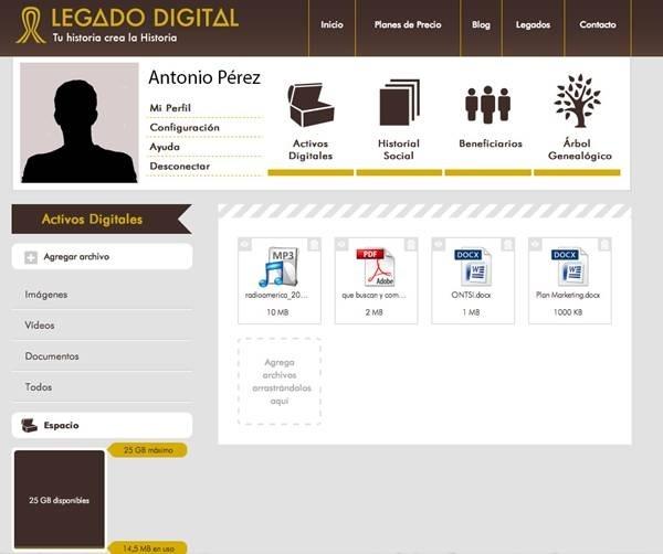 Nace Legado Digital, un servicio en la nube para custodiar, gestionar y transmitir nuestro patrimonio digital