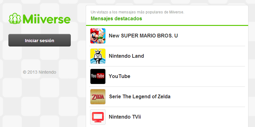Miiverse ya está disponible en PC, Smartphones y Tablets