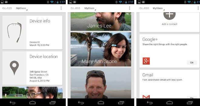 Revelan los sensores internos de Google Glass