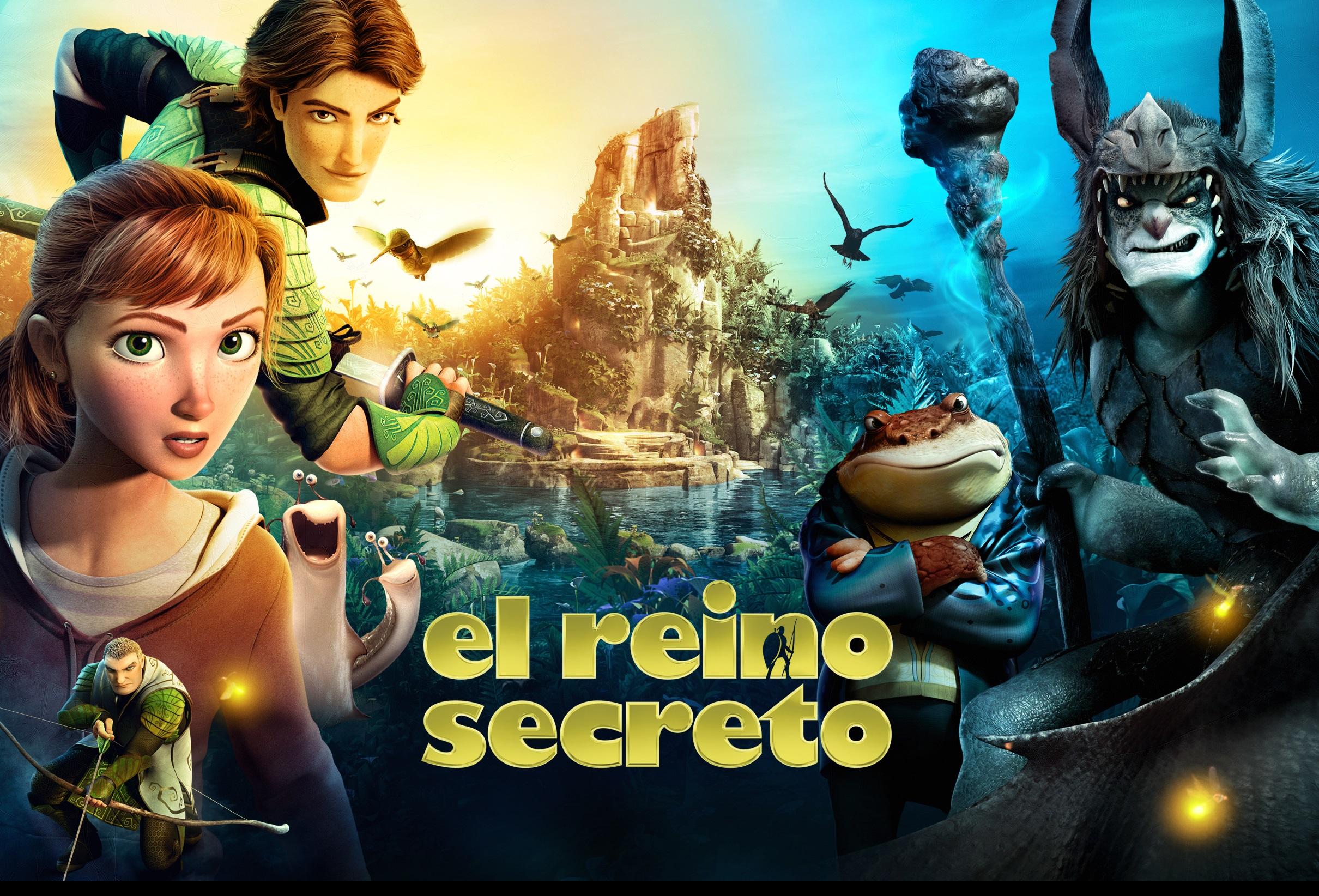 El juego oficial de la película El Reino Secreto cobra vida en smartphones y tabletas