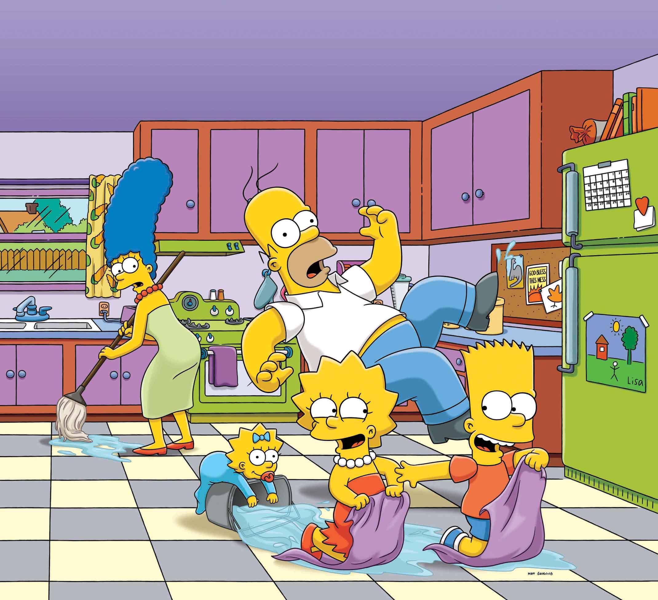"""En Febrero FOX pinta el mes de amarillo con el especial:  """"SIMPSON PERSONAJES"""""""