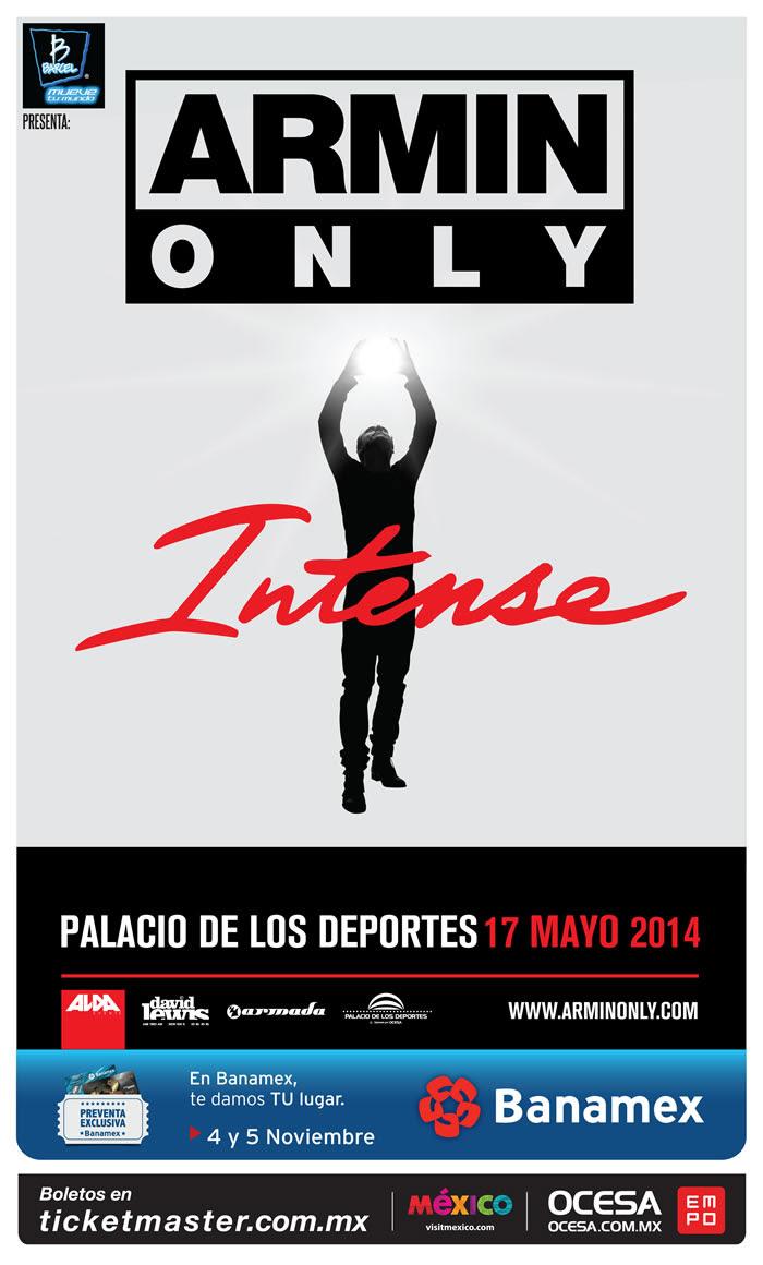 ARMIN VAN BUUREN – Intense Tour México City!