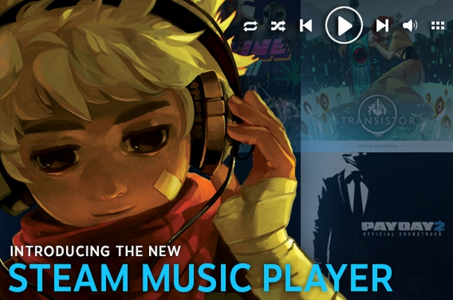 how to add music to steam