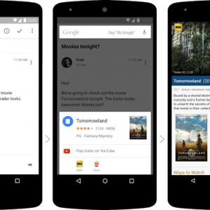 "Android M trae la nueva funcionalidad ""Now on tap"" para activar Google Now #io15"