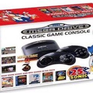 Sonic celebra su 25 aniversario con una nueva y retro consola