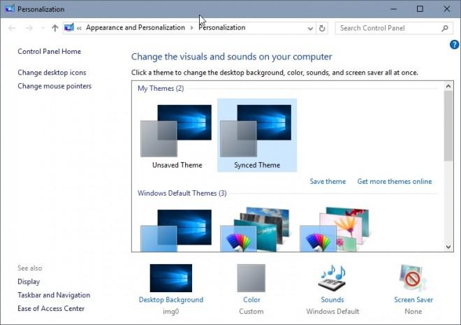 personalization-windows-10