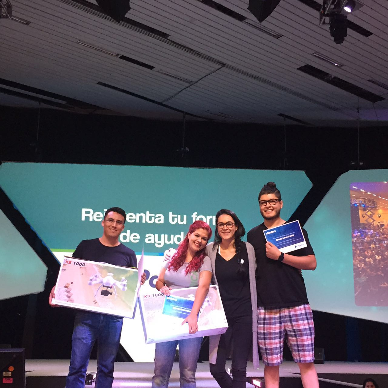 Ganadores Reto PayPal 2016